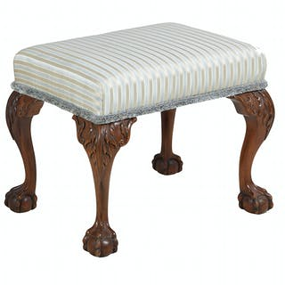 George III-Style Mahogany Bench