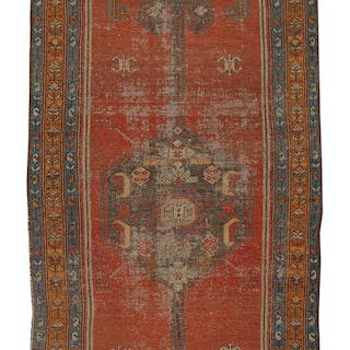Semi-Antique Bidjar Carpet