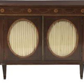 Early Victorian Mahogany Cabinet
