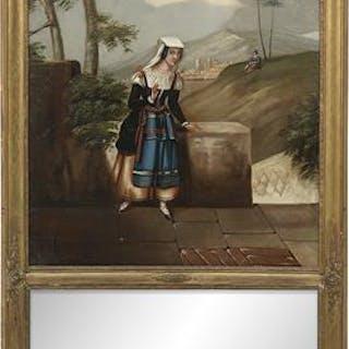Continental Trumeau Mirror