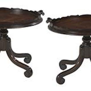 Pair of Mahogany Tray Tables