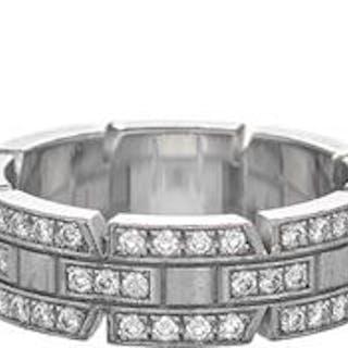 """Cartier """"Tank Francaise"""" Diamond Band"""