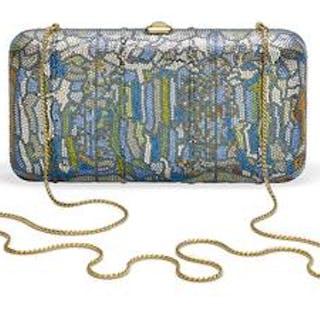 "Judith Leiber ""Tiffany Stained Glass"" Rectangular Minaudiere"