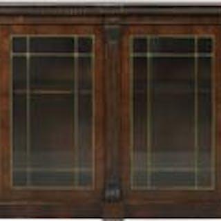 Late Regency Rosewood Bookcase