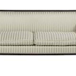 Regency-Style Mahogany Sofa