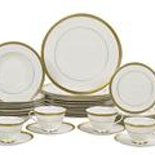 "Royal Doulton ""Royal Gold"" Partial Dinner Service"