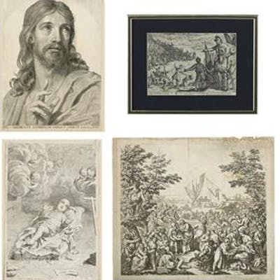 Collection of Four Old Master Prints