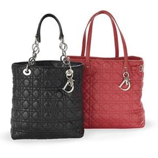 Two Christian Dior, Paris, Totes