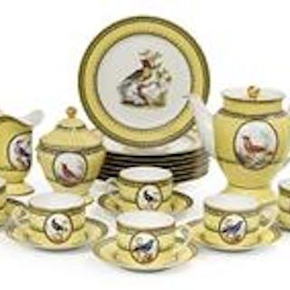 French Sevres-Style Porcelain Tea Set