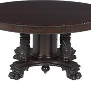 American Late Classical Revival Mahogany Dining Table