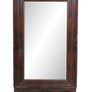 New Orleans Market Mahogany Armoire, Attributed to the Warerooms of