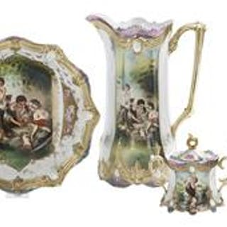 Four-Piece Collection of R.S. Prussia
