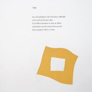 Jean (Hans) Arp, French/German, 1886-1966- Untitled; two lithographs