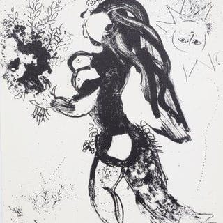 Marc Chagall, Russian/French 1887-1985- Offering, 1960; ten lithographs