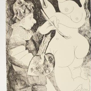 After Pablo Picasso, Spanish 1881-1973- Picasso 156 Gravures Recentes