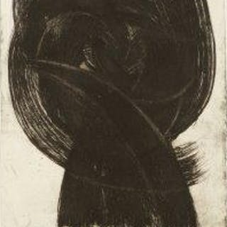 Andre Bicat, British 1909-1996- Untitled composition; etching, signed
