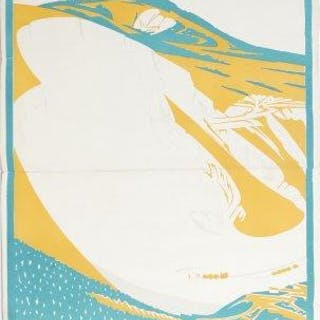 Noel Rooke, British 1881-1953- Betchworth, 1921; lithographic poster