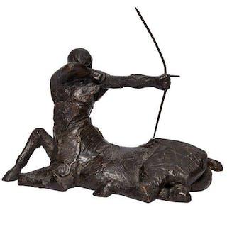 Philip Jackson FRBS FRSA CVO, Scottish b. 1944- The Centaur; bronze