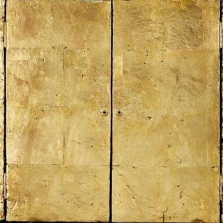 Derek Hirst, British 1930-2006- Puerta De Oro. No.IX, 1997-98; mixed