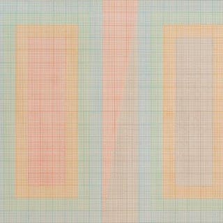 Mark Lancaster, British b.1938- Eighths, 1967; screenprint in colours