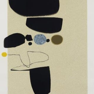 Victor Pasmore CH CBE, British 1908-1998- Points of Contact 25, 1974;