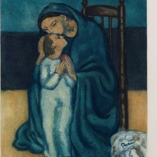 After Pablo Picasso, Spanish 1881-1973, Maternité [Ginestet/Pouillon