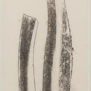 Harry Bertoia, American 1915-1978- Untitled (1822, 1881 & 1181); monotype