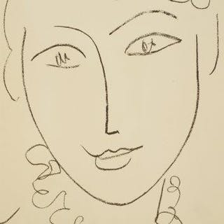 Henri Matisse, French 1869-1954- Portraits by Henri Matisse, 1954;
