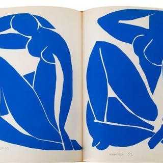 Henri Matisse, French 1869-1954- Verve Vol. IX, No 35-36, 1958; the