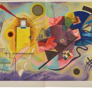 Derrière Le Miroir, No 154, Kandinsky, 1965; the book comprising four
