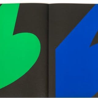 Derrière le Miroir, No 110, Ellsworth Kelly, 1958; the book comprising