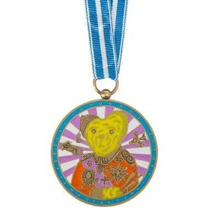 Grayson Perry CBE RA, British b.1960- Artists' Medal, 2018; enamel