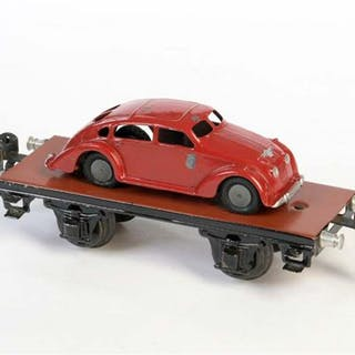 Märklin, Plattformwagen + Adler Limousine