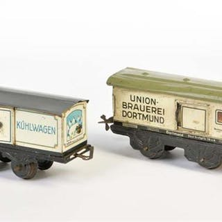 Bub, 2 Güterwagen