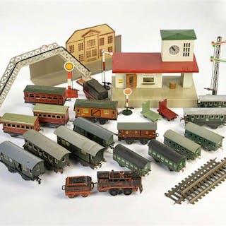 Kibri, Bub u.a., Konvolut Eisenbahn Spur 0