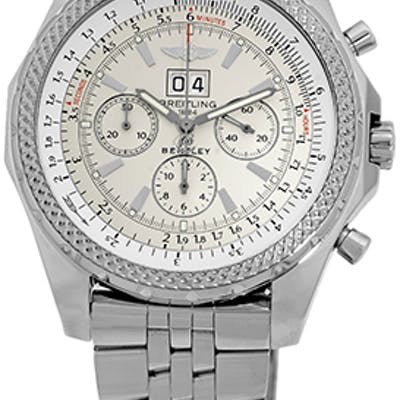 """Gent's Stainless Steel Breitling """"Bentley 6.75"""" Chronograph"""
