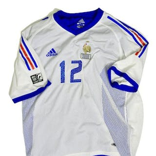 Thierry Henry. Superbe maillot neuf de l'international. Il porte le
