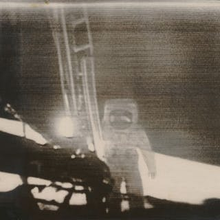 Nasa. Mission Apollo 11. Photographie historiqueL'image de la silhouette