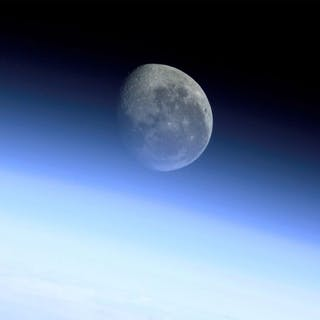 Depuis la station spatiale internationale magnifique observation de
