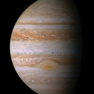Nasa. Belle vue de la planète Jupiter obtenue lors de son survol par