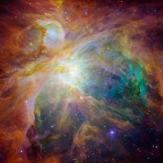 NASA. GRAND FORMAT HUBBLE. A 1500 années lumières de la Terre, la