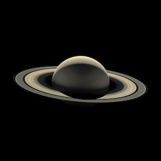 Nasa. GRAND FORMAT. Mission Cassini. La dernière photographie de la
