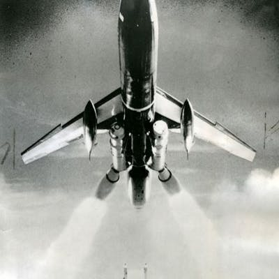 Nasa/US Air Force. Rare. Cap Canavéral, Floride, 1958. Spectaculaire