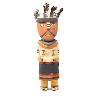 Poupée Kachina HOO'E ou WO-E ou HUUHUWA - HUHUWA ou OOTO Cross-Legged