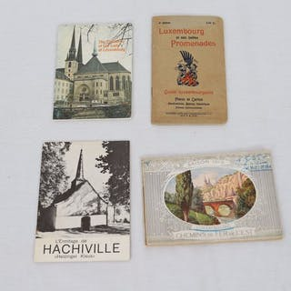 Tourisme Luxembourg 4 ouvrages sur le Grand-Duché du Luxembourg -