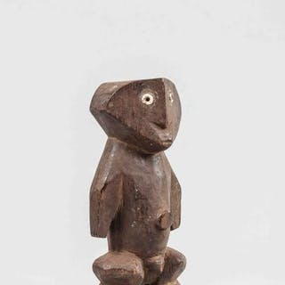 Figurine Bois ZANDE Ex Congo belge avant 1960 Dimensions: H: 21 cm