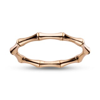 Gucci Bamboo Small Size Rose Gold Bracelet - Manfredi Jewels