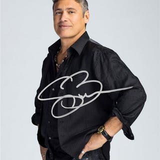 Steven Bauer Autographed Ray Donovan Avi 8×10 Studio Photo