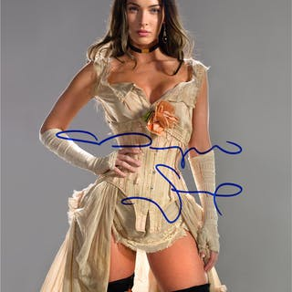 Megan Fox Autographed Jonah Hex Lilah 8x10 Photo