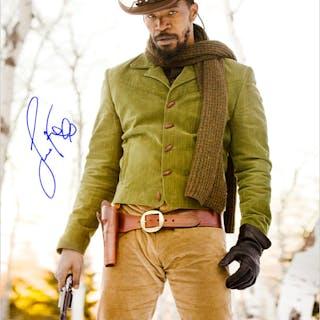 Jamie Foxx Autographed Django Unchained 16x20 Photo